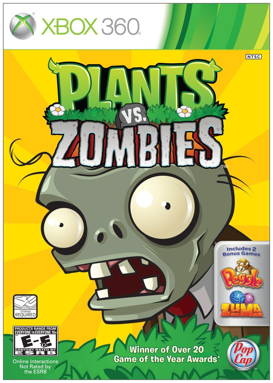 Plants vs. Zombies, The Witcher 2 + 2 Xbox 360