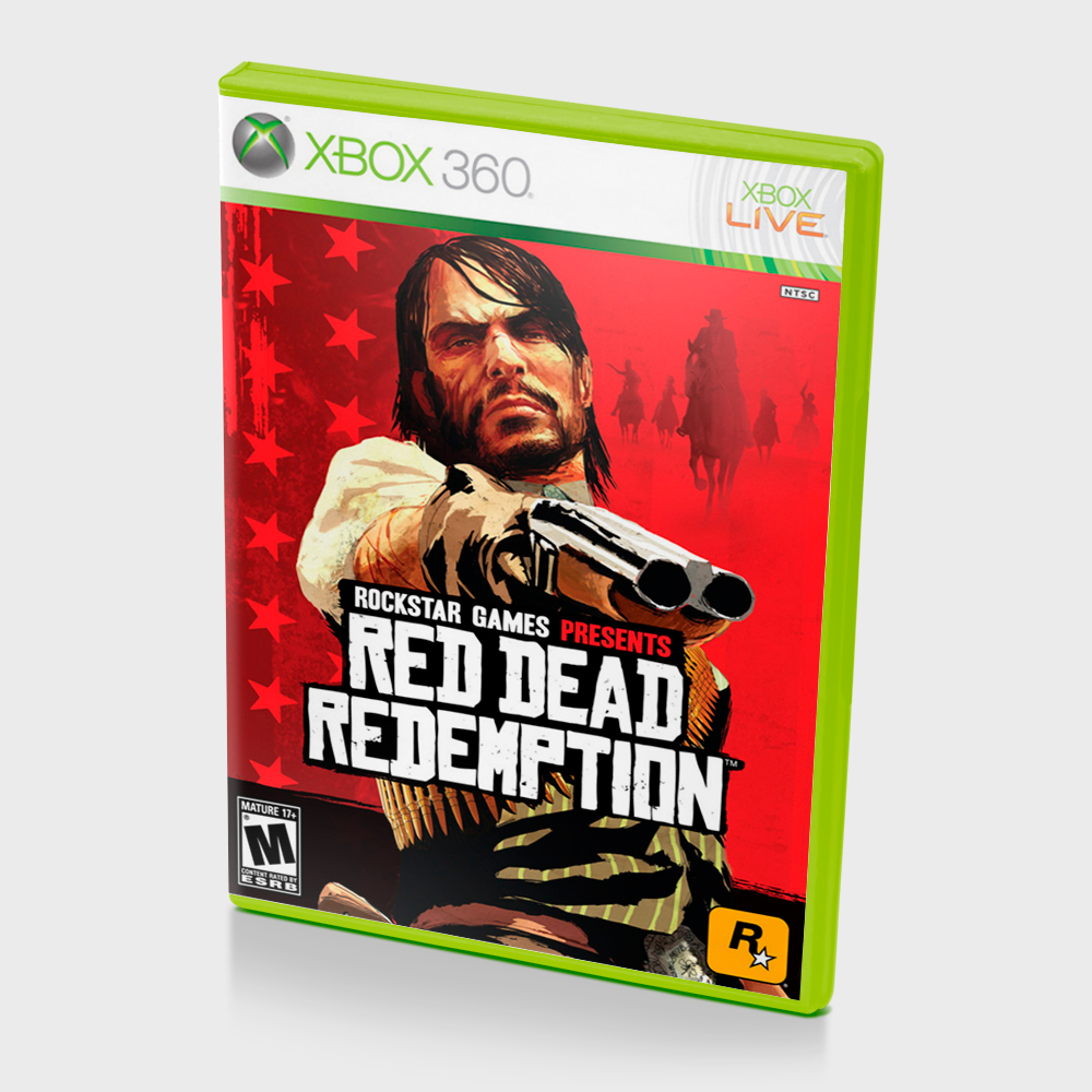 GTA IV, Red Dead Redemption + 10 games Xbox One 2019