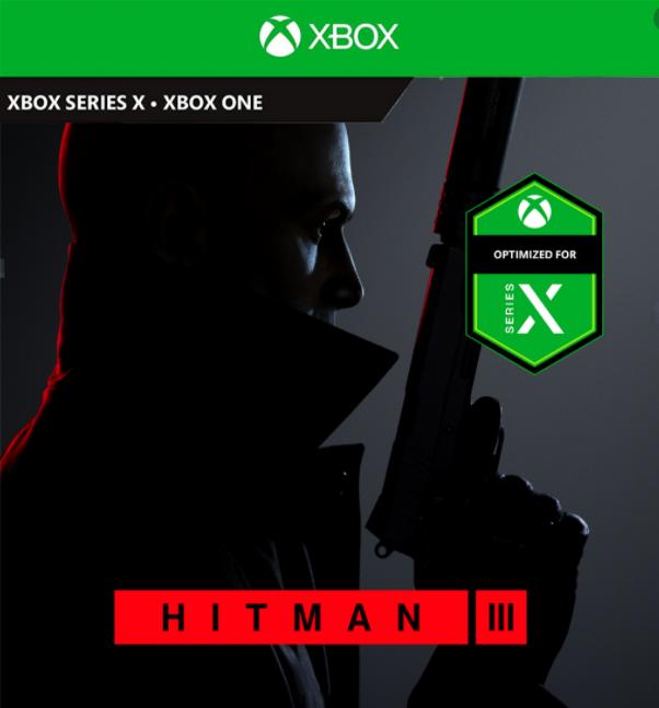 HITMAN 3 (XBOX ONE + SERIES) ⭐🥇⭐
