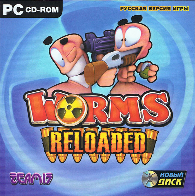 Worms Reloaded - For Steam. Scan key.