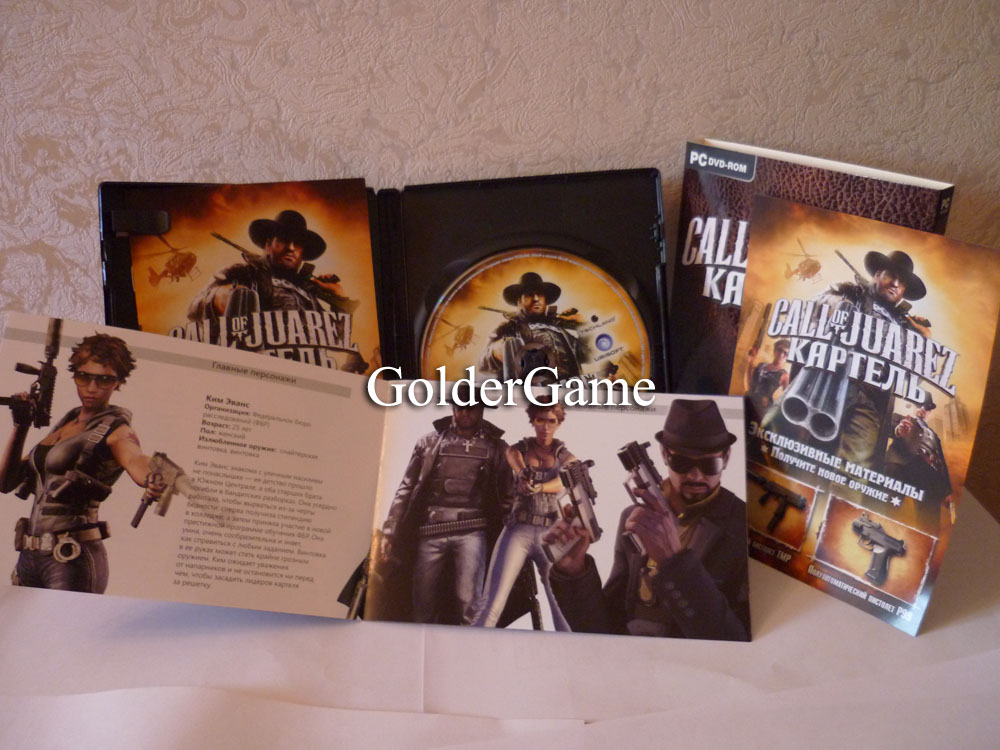 Call of Juarez: Картель - Limited Edition (Steam, 1C)