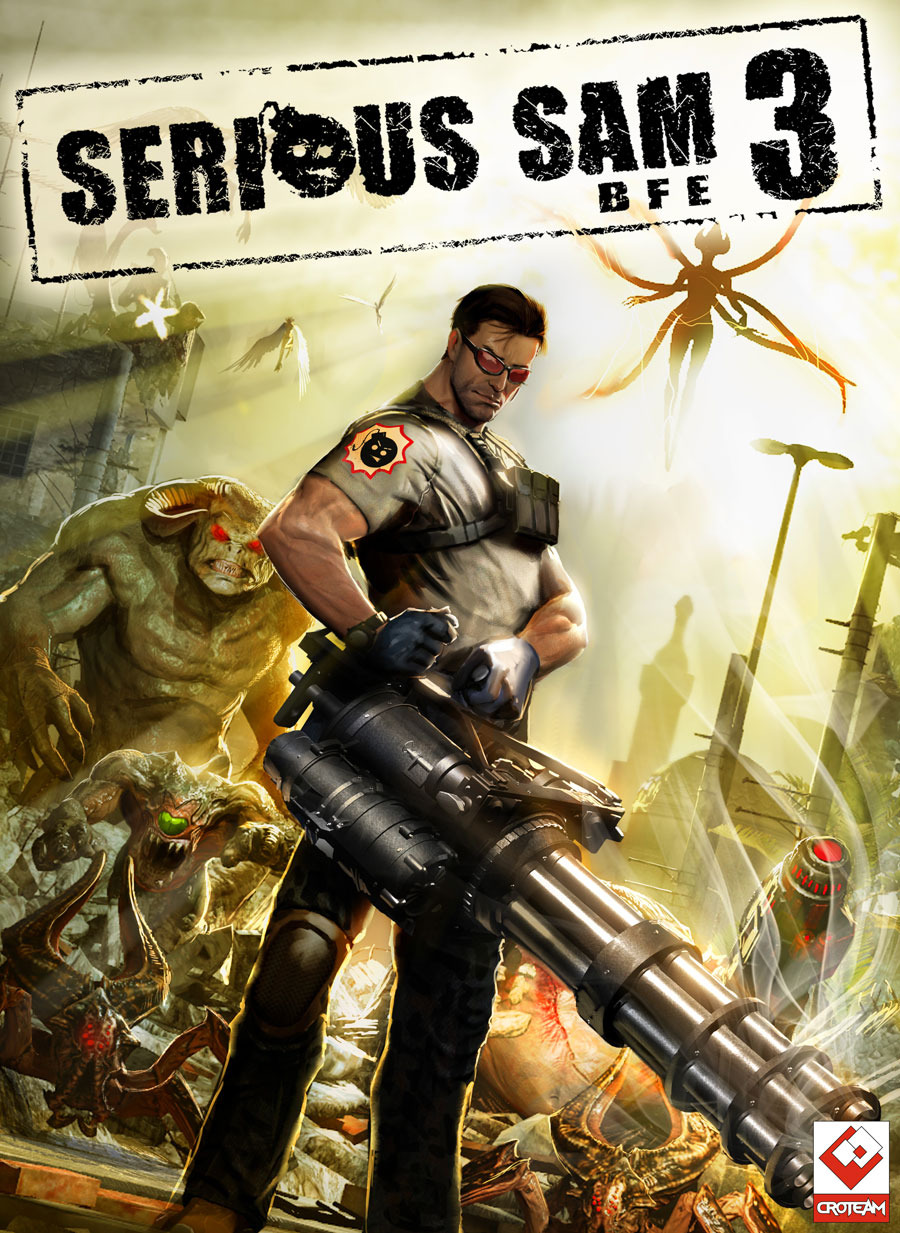 Serious Sam 3: BFE (Steam key from 1C) + BONUS