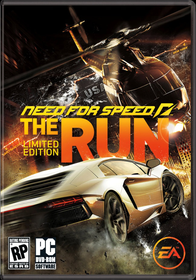 Need for Speed The Run: Limited Edition (Scan от 1С)