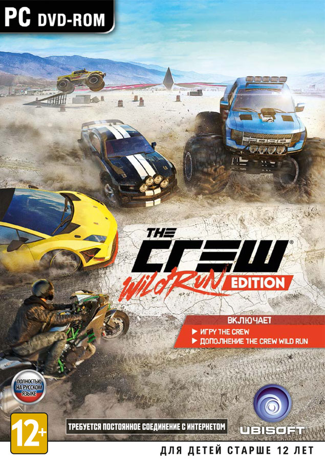 The Crew. Wild Run Edition - UPLAY - (Photo CD-Key)