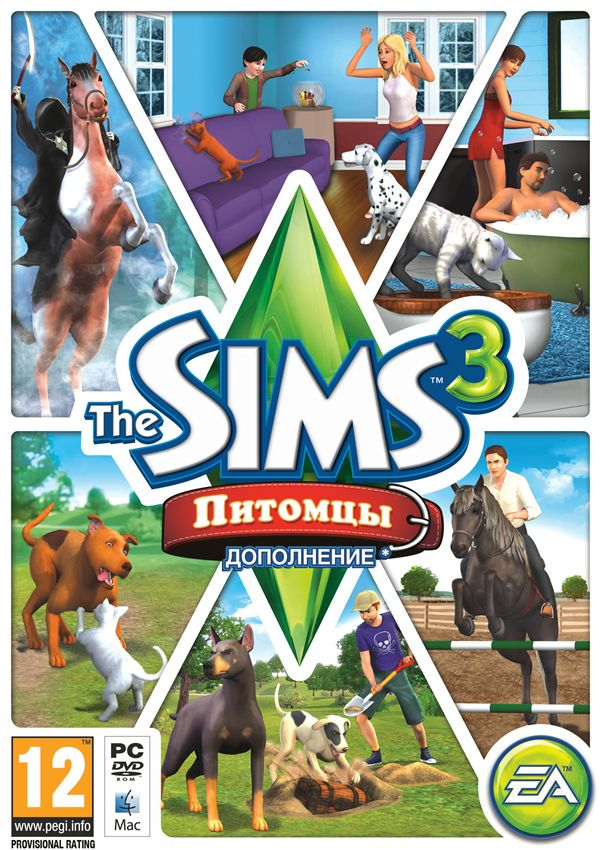 The Sims 3: Pets (Pets) Supplement (Photo CD-Key)