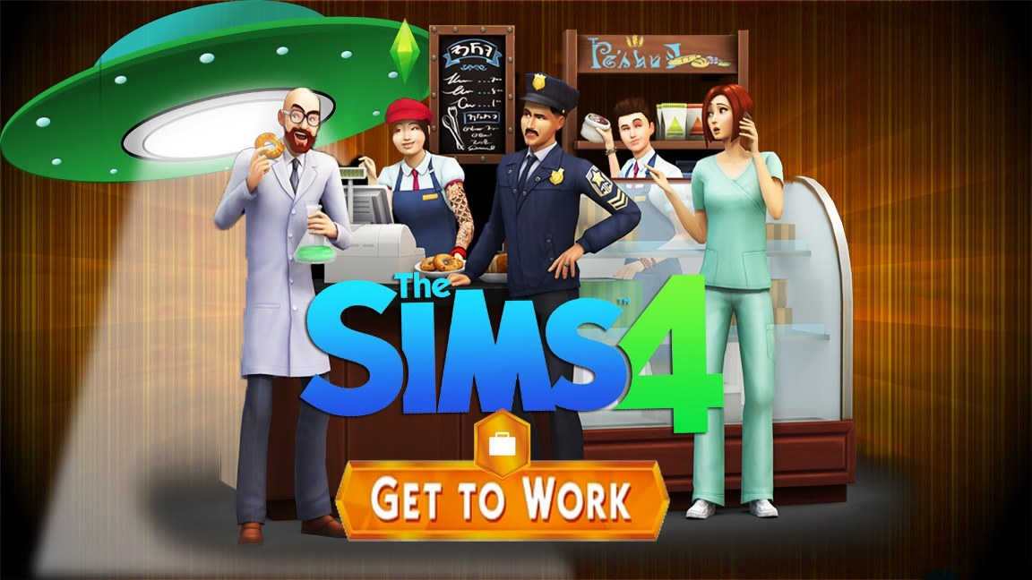 The Sims 4 (DLC) Get to Work (Photo CD-Key)