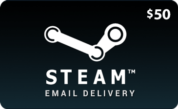 50 USD Steam Wallet Gift Cards - Redeem