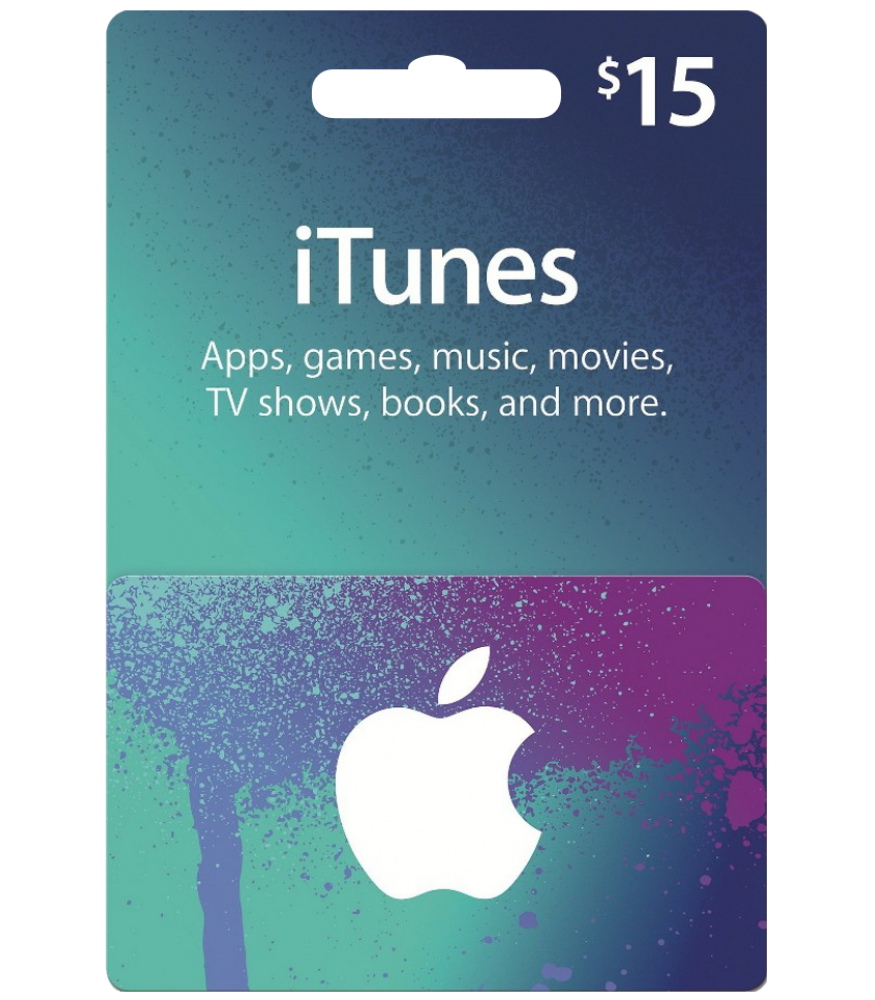 $15 USD iTunes Gift Card -US- Original Redeem -Discount