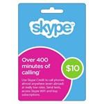 Skype $ 10 USD Оригинальные коды - Ваучер Активировать