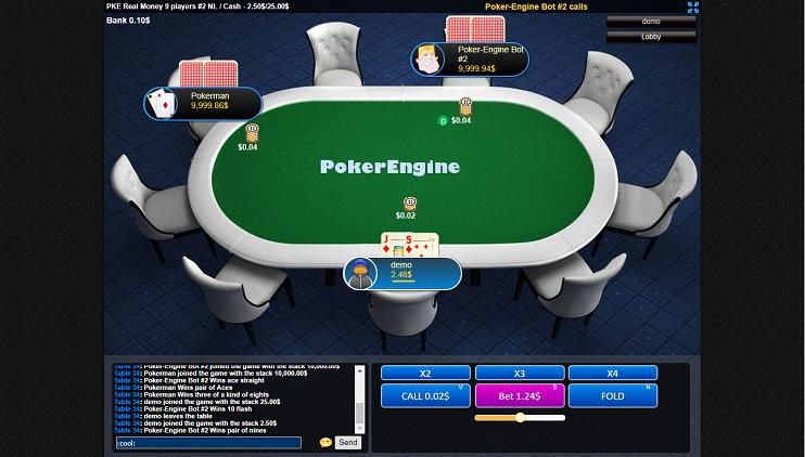 Multiplayer online Texas Hold'em script 2019
