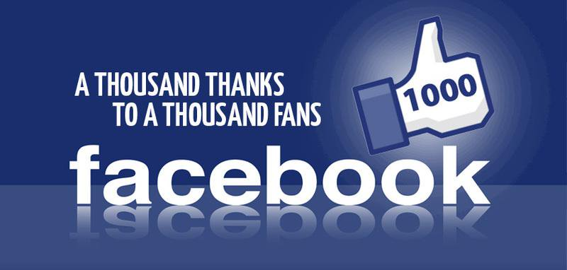 How to get 1000 likes on facebook page free