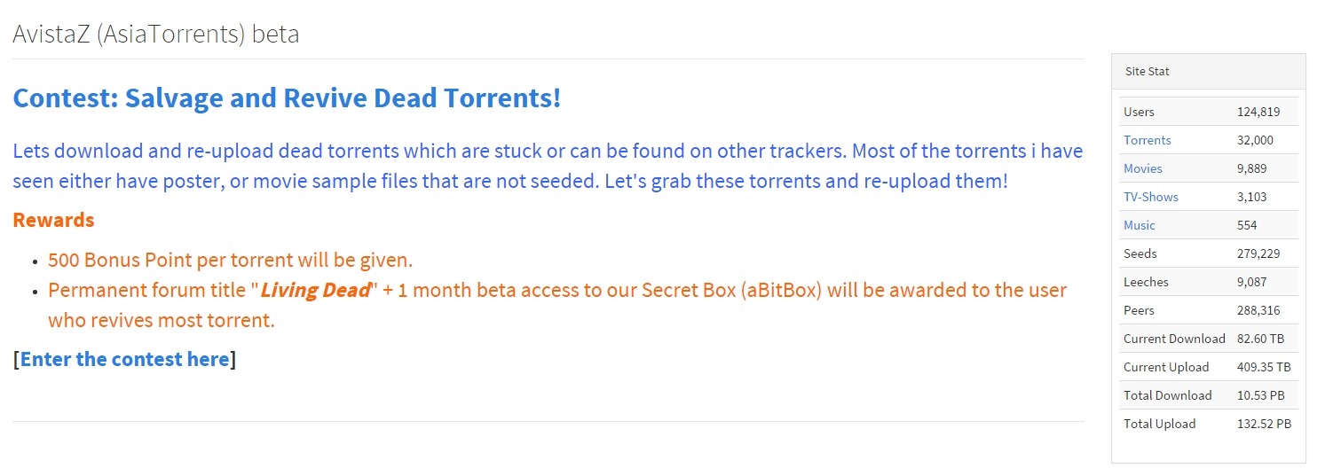 Buy Invites To Private Torrent Tracker Avistaz To And Download