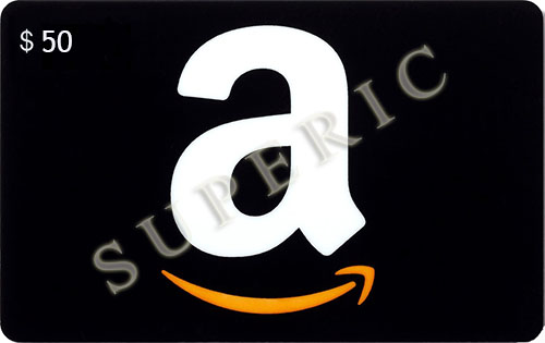AMAZON 50 usd gift card