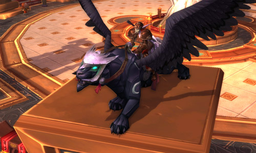 WOW mount Obsidian Night Wing + 1 month games