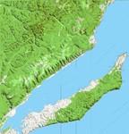 Карта острова Ольхон (оз. Байкал)