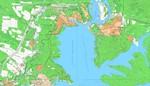 Карта Братского р-на