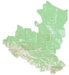 Карта Нижнеудинского р-на