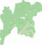 Карта Киренского р-на