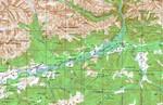 Карта Окинского р-на