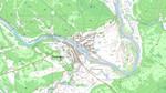 Карта Баунтовского р-на