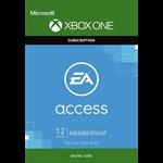 EA ACCESS 12 месяцев XBOX ONE (REGION FREE)