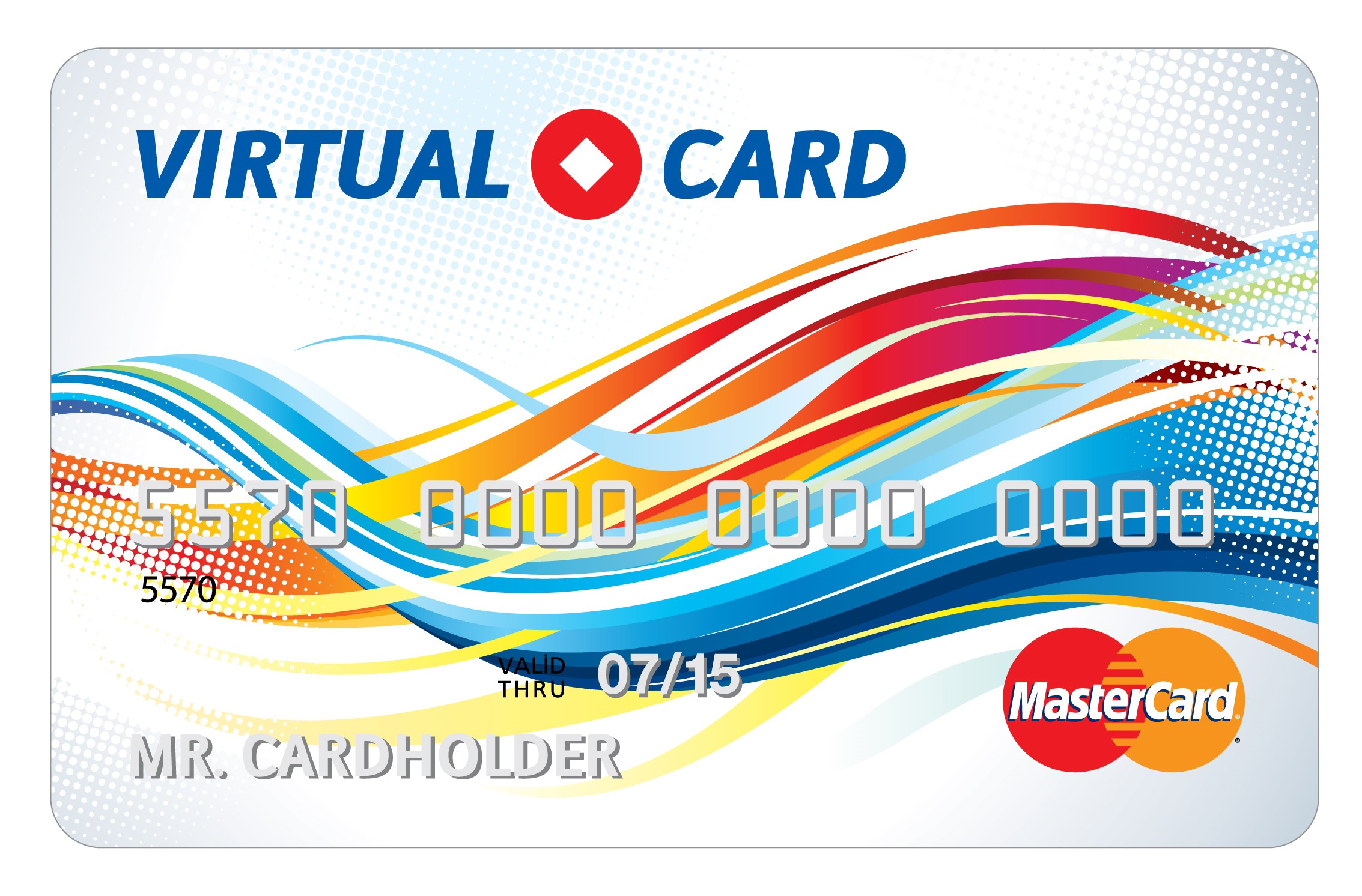 5$ - 200$ MASTERCARD VIRTUAL (RUS Bank) Guarantee
