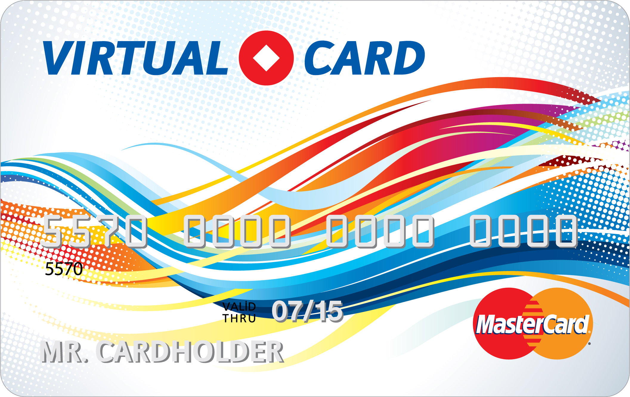350 rub MASTERCARD VIRTUAL (RUS Bank) Guarantee