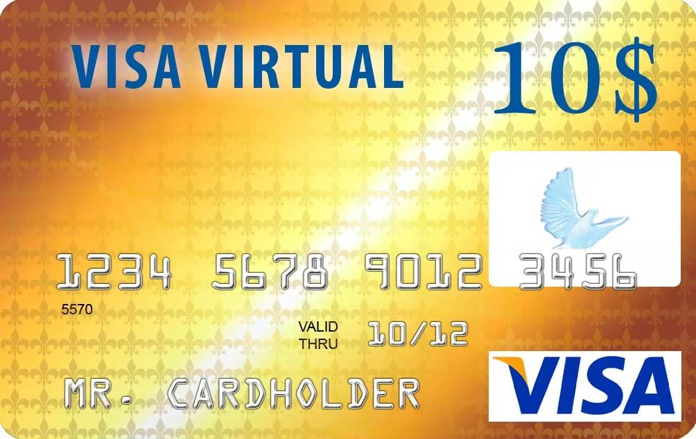 10$ VISA VIRTUAL (RU Bank) Guarantee.