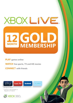 Xbox Live Gold - 12 months (all countries + Russia)