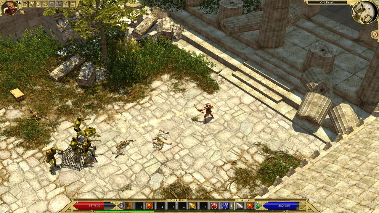Titan Quest Anniversary Edition (steam cd-key RU,CIS)