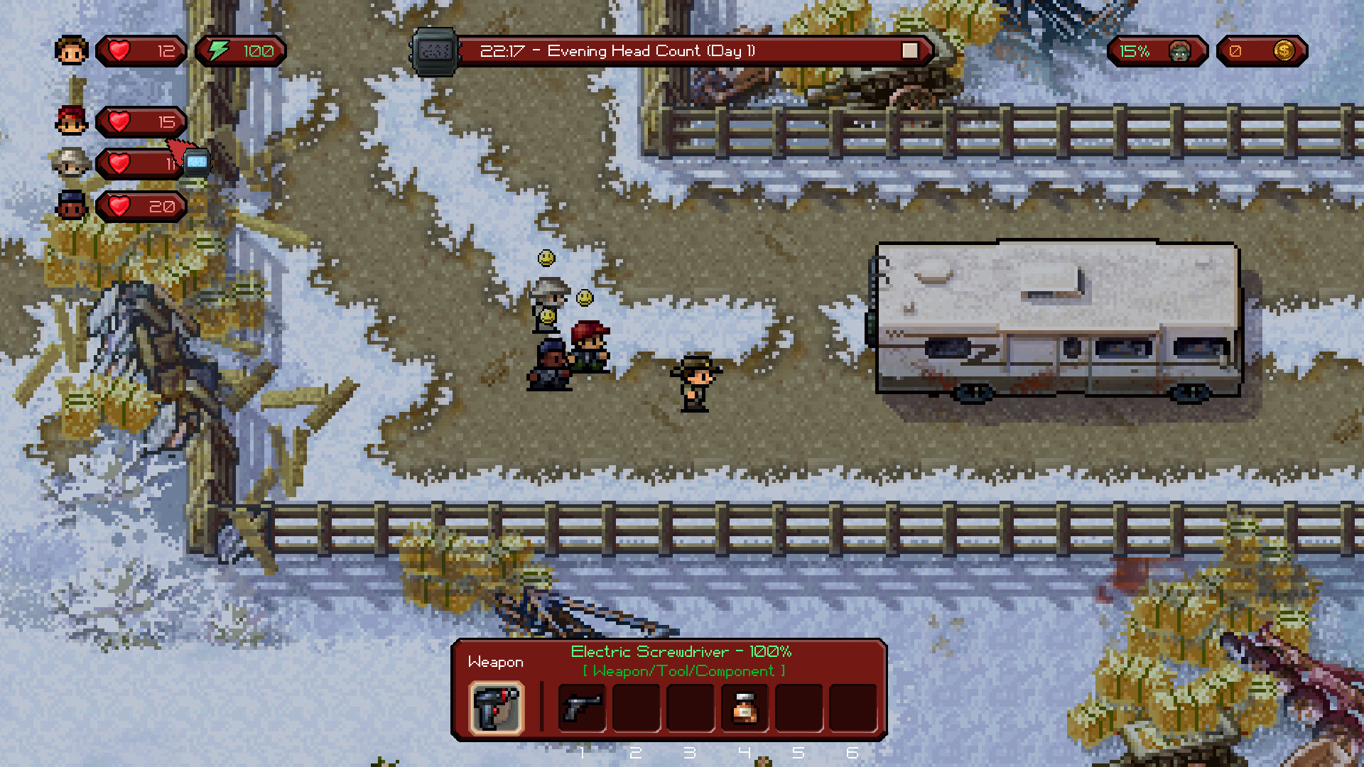 The Escapists: The Walking Dead Deluxe Edition steam RU