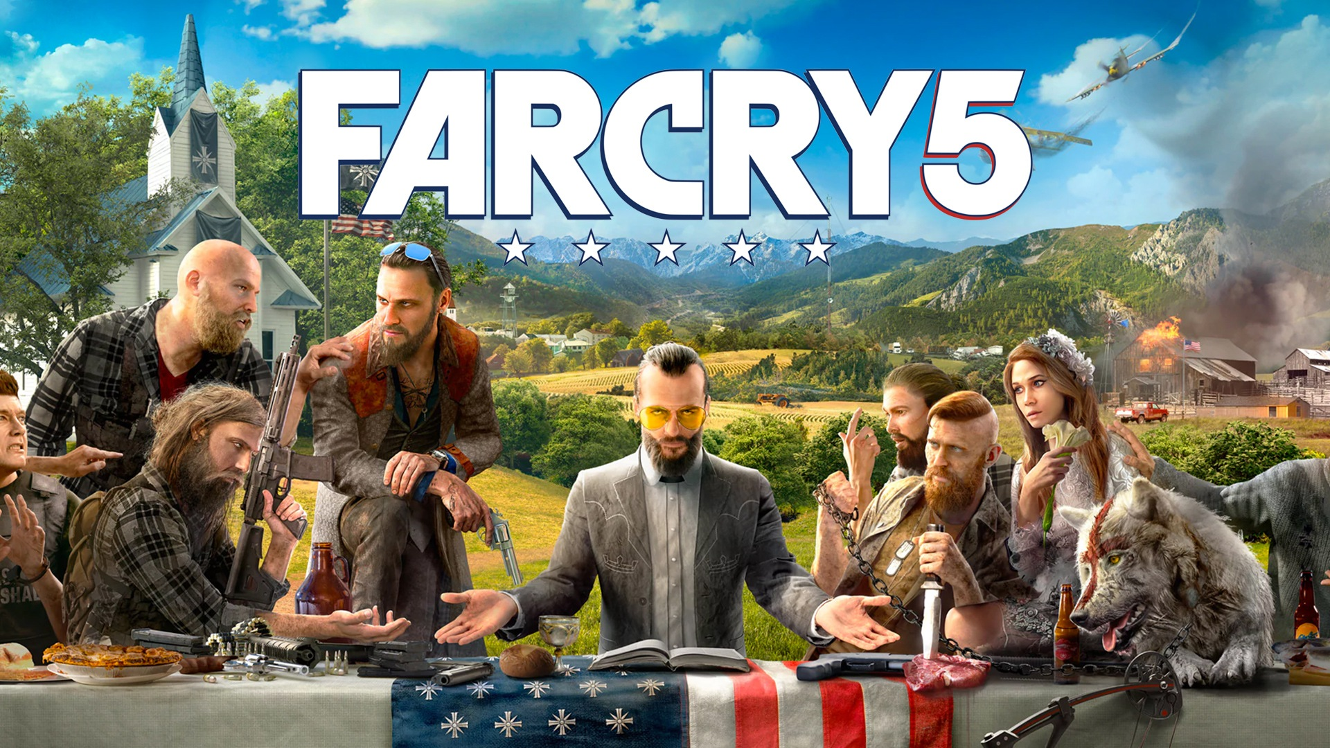 Far Cry 5 (Uplay cd-key RU, CIS)