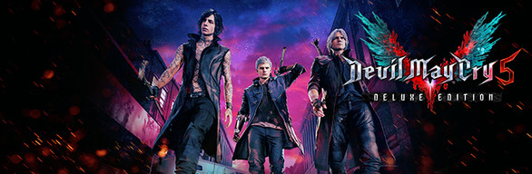 DEVIL MAY CRY 5 DELUXE EDITION (Steam key RU)