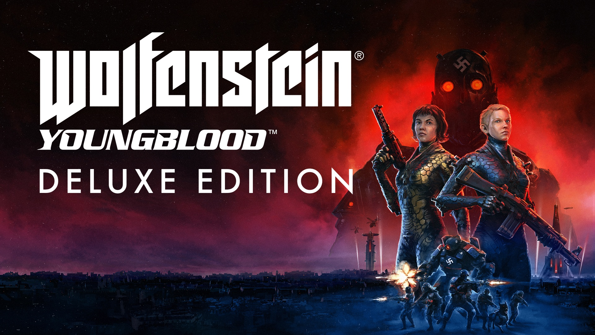 WOLFENSTEIN: YOUNGBLOOD DELUXE EDITION Bethesda key RU