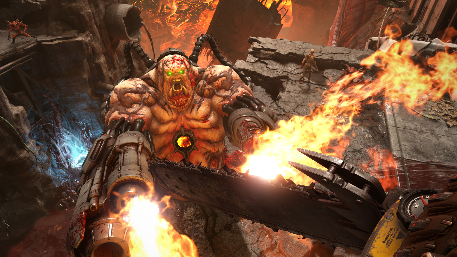 DOOM ETERNAL DELUXE EDITION (STEAM key RU)