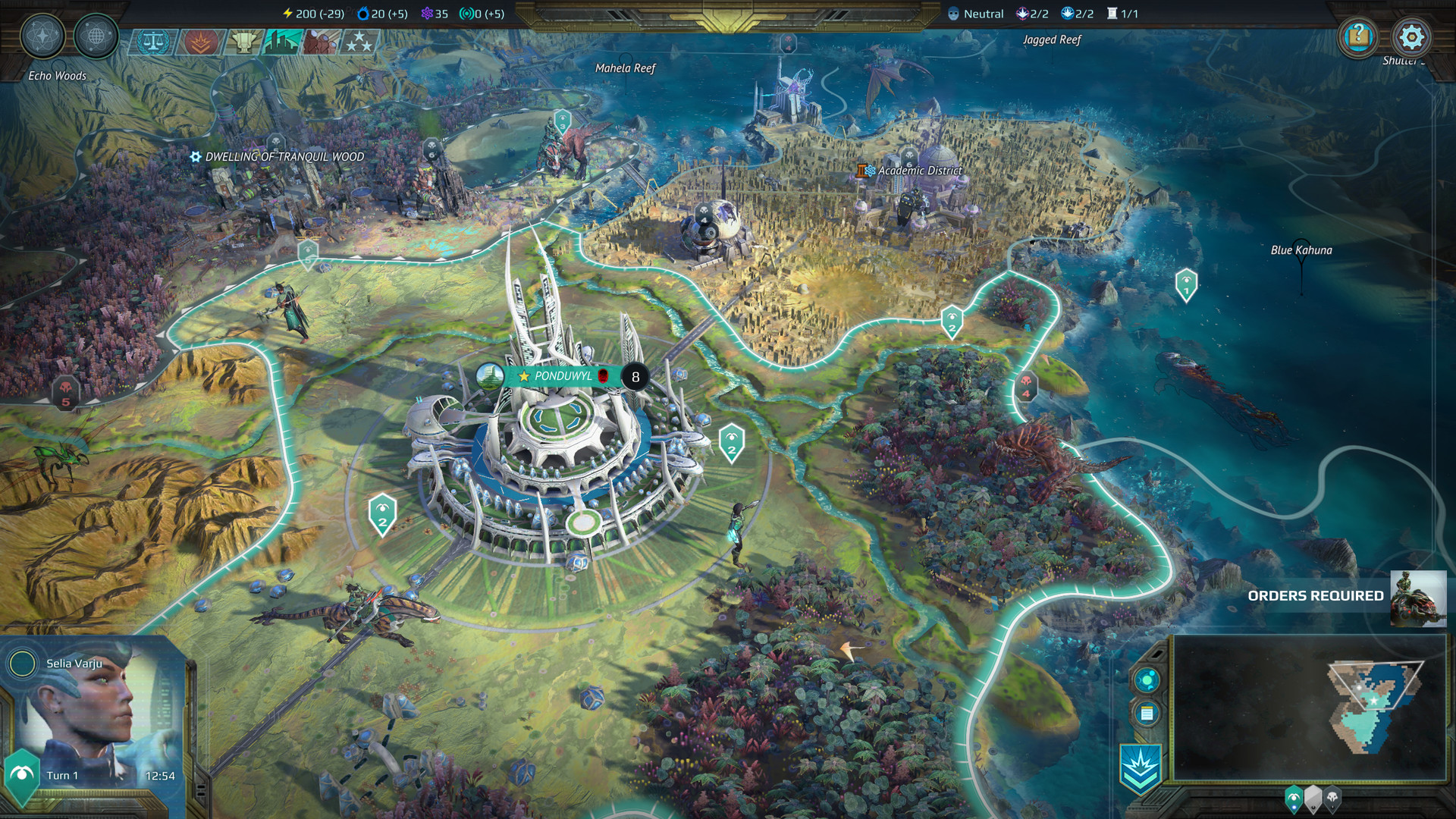 AGE OF WONDERS: PLANETFALL (steam cd-key RU)
