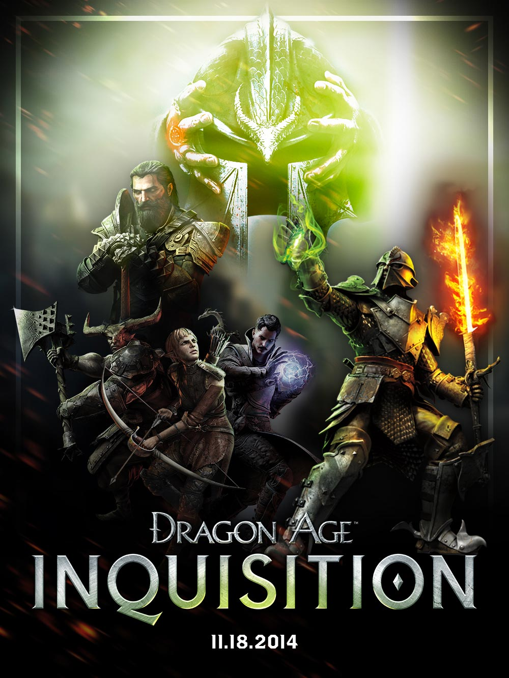 Dragon Age: Inquisition (answer to the secret question)