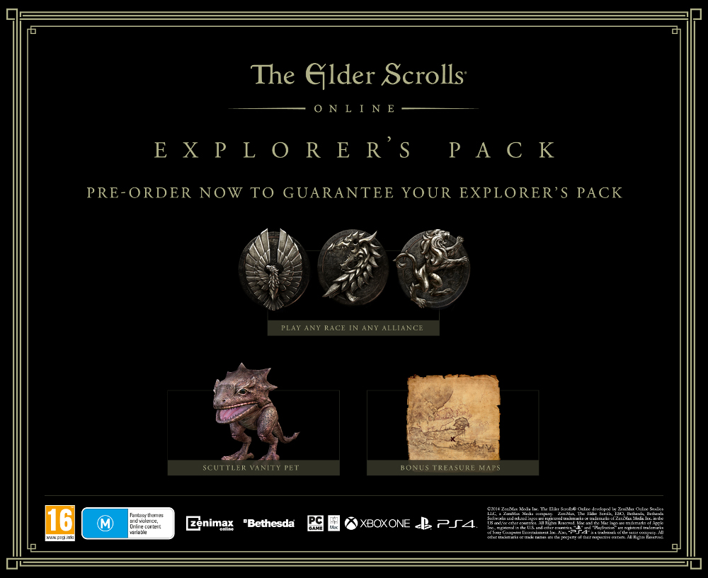 The Elder Scrolls Online - Explorer´s Pack DLC KEY
