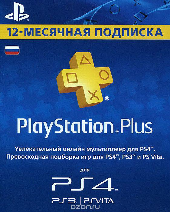 Playstation Plus: Map of subscription of 365 days (12m)