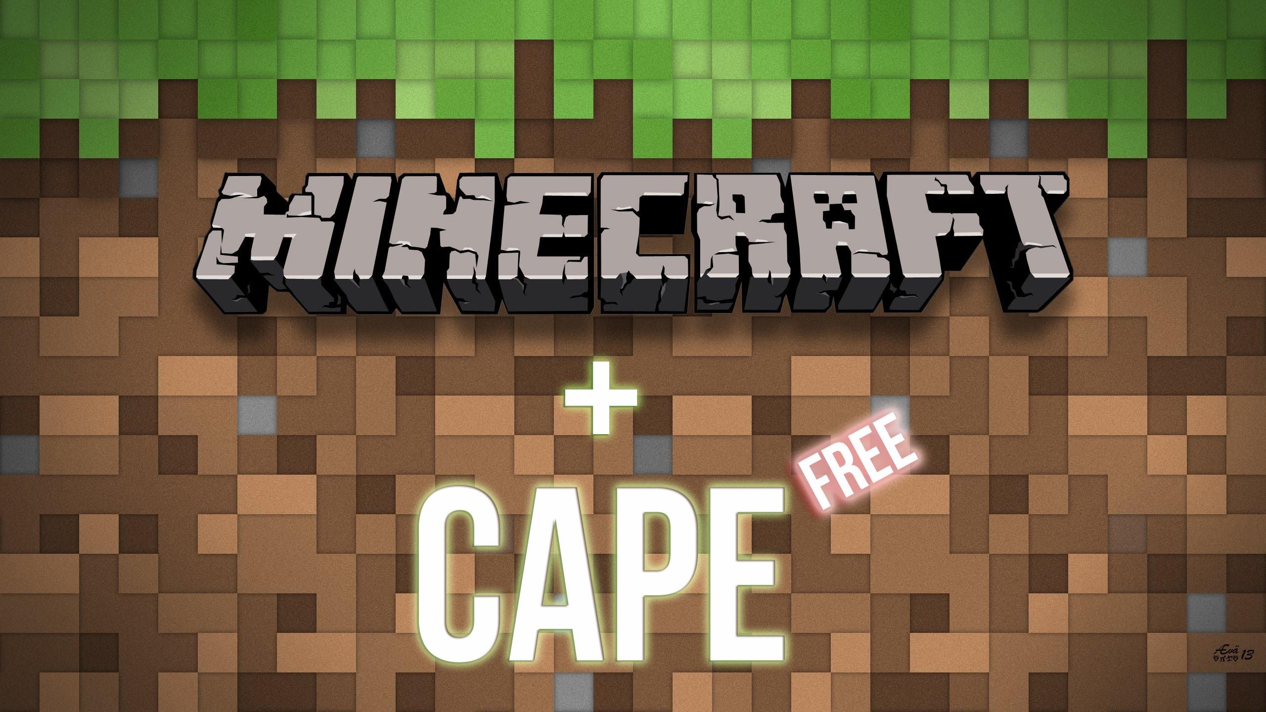 Купить Minecraft Premium Плащ (CAPE)