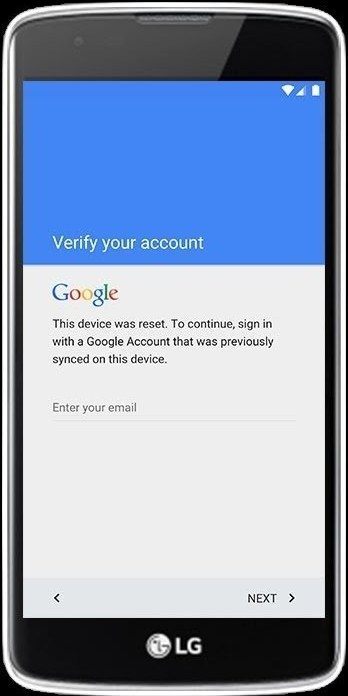 LG FRP unlocks Google account unlock screen block