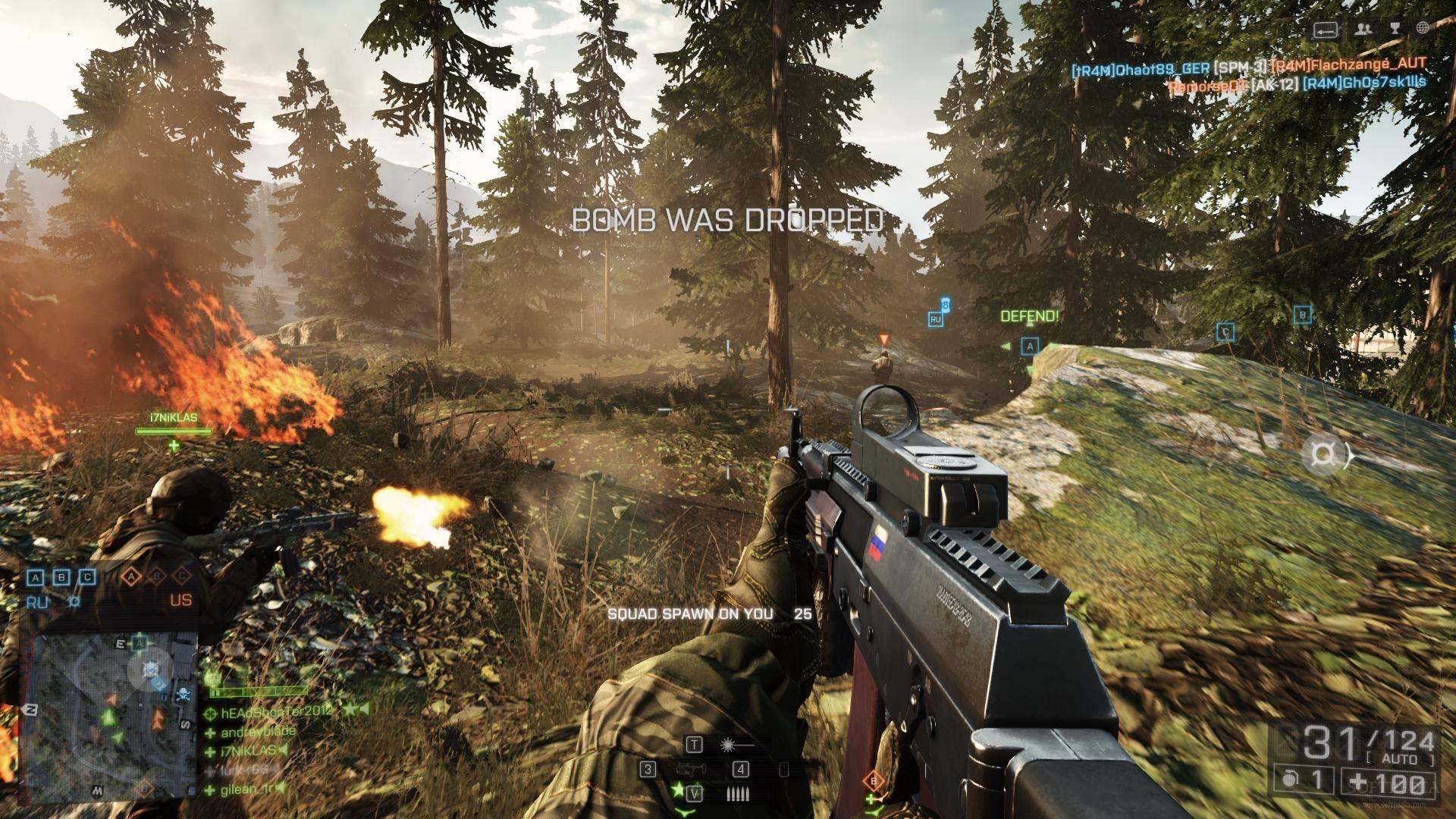 Скачать мультиплеер для battlefield 4.
