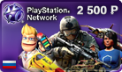 PLAYSTATION NETWORK (PSN) to 2,500 rubles (SCAN)