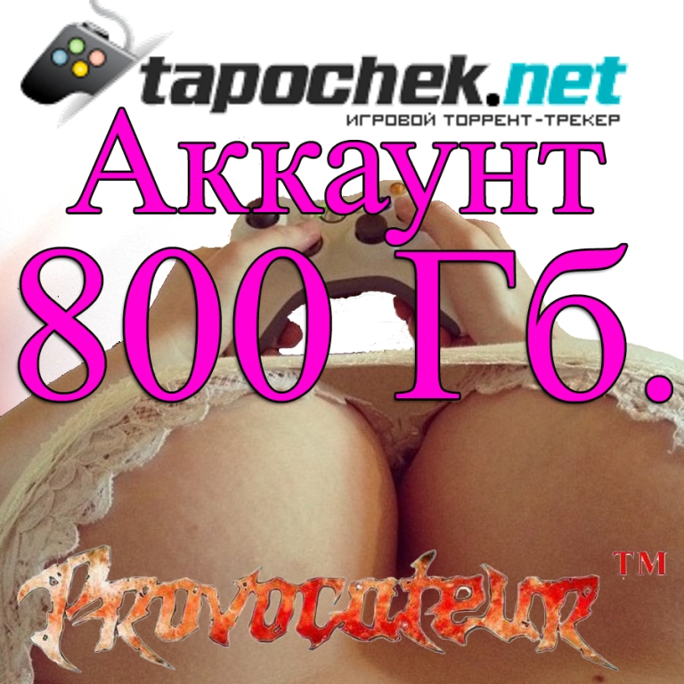 ACCOUNT TAPOCHEK.NET (TAPOCHEK.NET) 800 GB