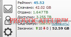 ACCOUNT TAPOCHEK.NET (TAPOCHEK.NET) 1.6TB