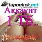 АККАУНТ TAPOCHEK.NET ( ТАПОЧЕК.НЕТ ) 1 Тб