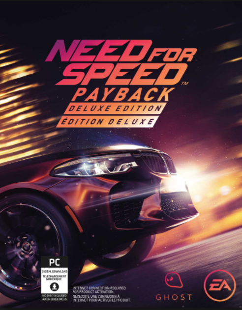 Need for Speed Payback Deluxe Edition + Гарантия &#9989