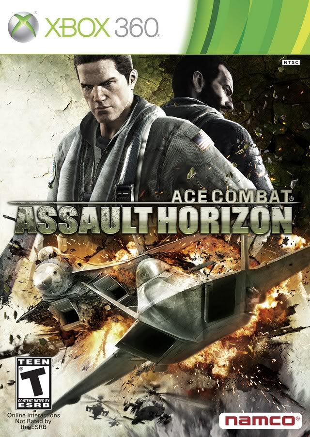 Ace Combat :AH + Max Payne 3 + 1 game (Xbox 360) Shared