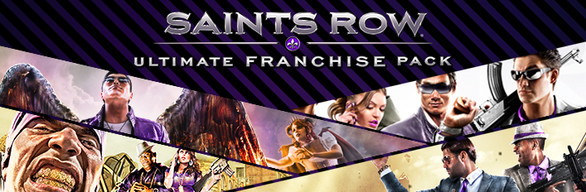 Saints Row Ultimate Franchise Pack steam gift (RU+CIS) 2019