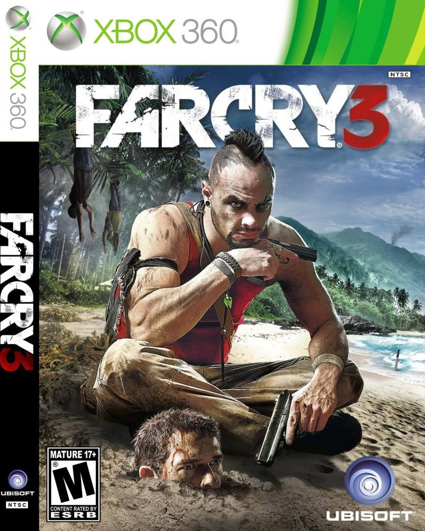 Far Cry 3, MK9, Crysis 3, Subway 2033, etc. Xbox 360 Ge